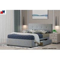ALISSON 2 DRAWERS BED
